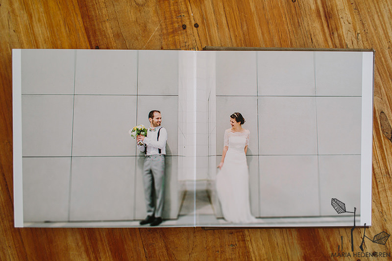 Maria Hedengren Photography Wedding Album Designs