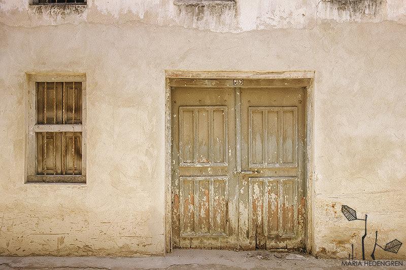 Stone Town Door
