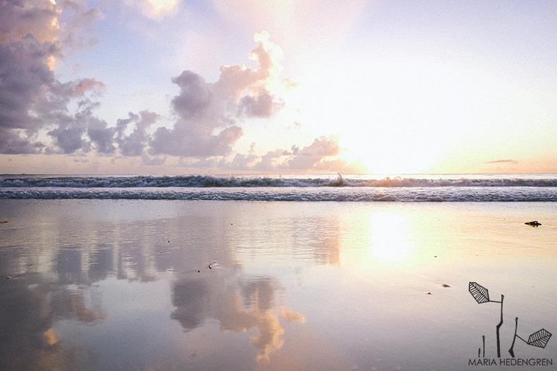 Matemwe beach sunrise