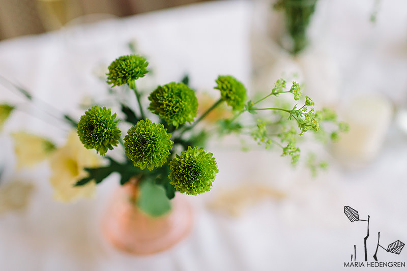 wedding flowers greem