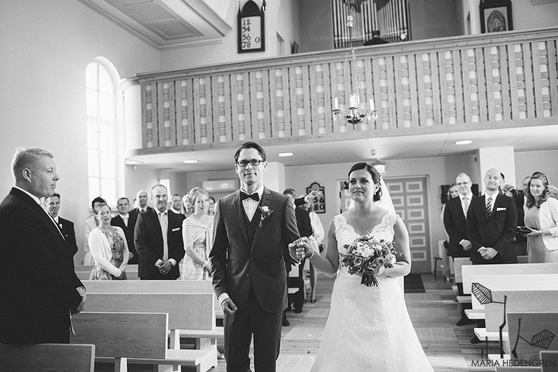Degerby Church Wedding