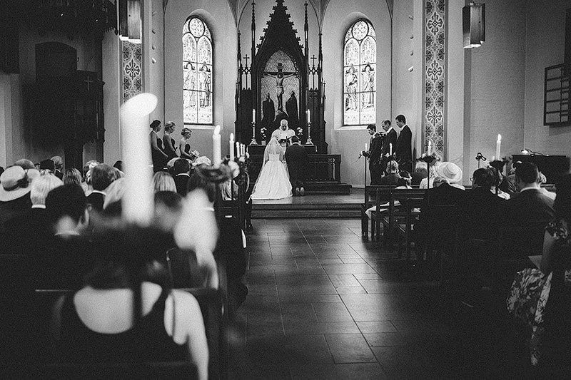 German Church wedding