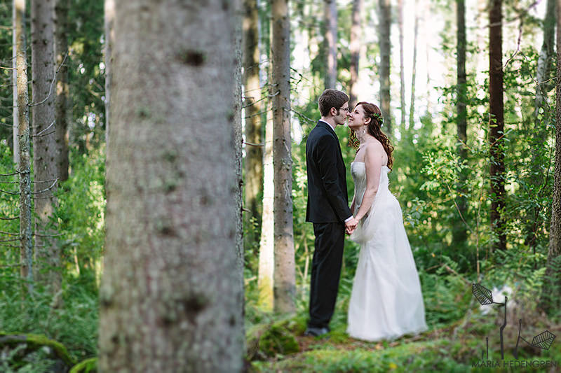 Finland Forest wedding