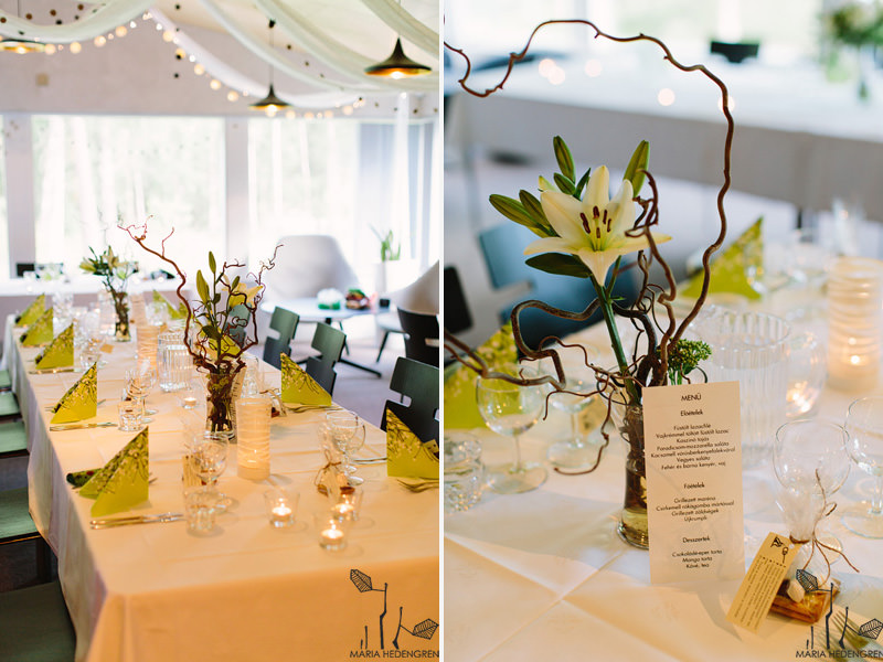 forest wedding decor