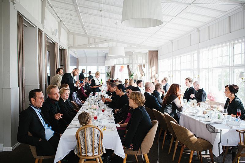 ravintola Saaristo Hääjuhla