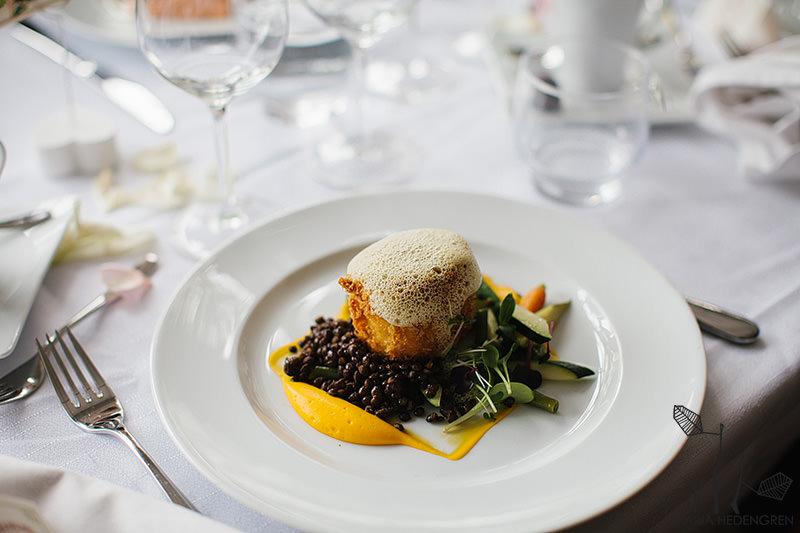 Klippan wedding food