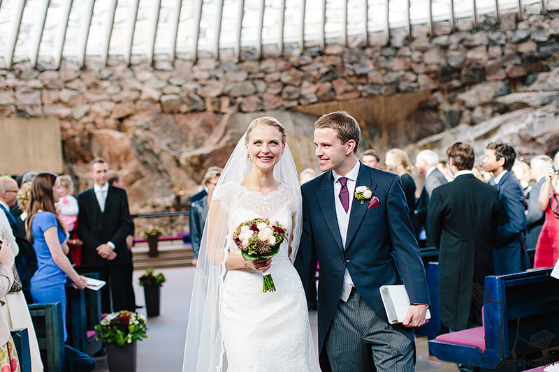 Rock Church Helsinki wedding