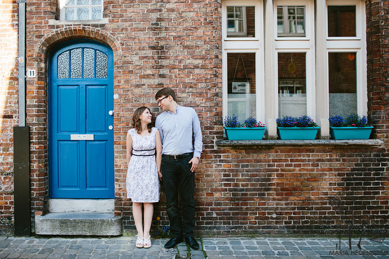 Bruges Engagement Session