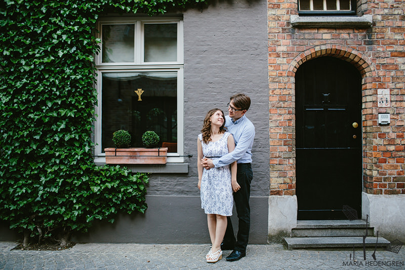 Bruges pre wedding session