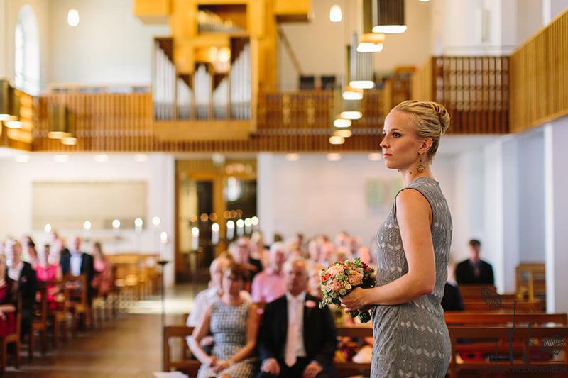 saksalainen kirkko Häät