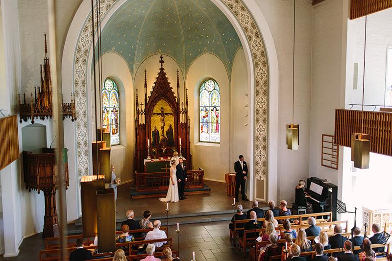 Häät Saksalaisessa kirkossa