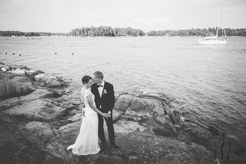 Finland wedding by the sea