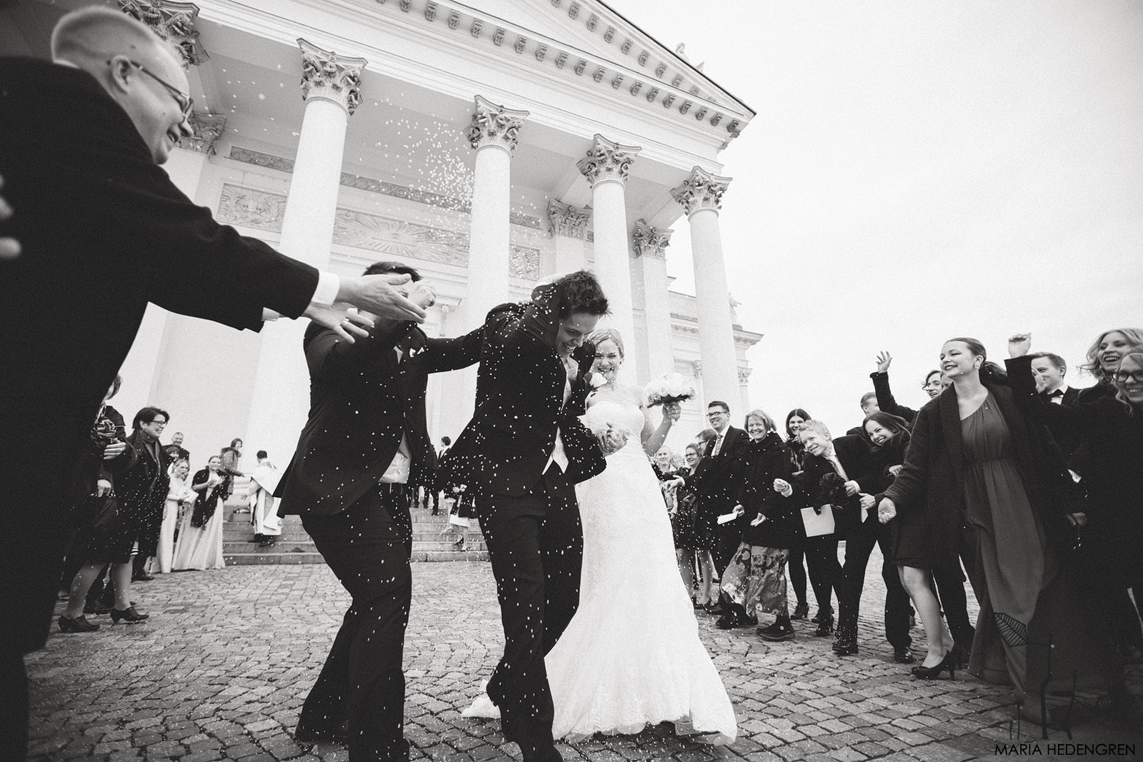 Helsinki Cathedral Wedding