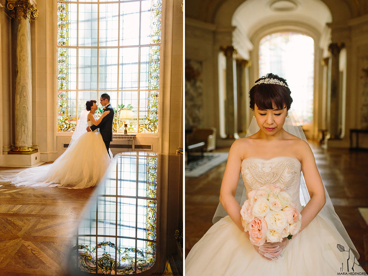 Shangri-La Hotel Paris wedding