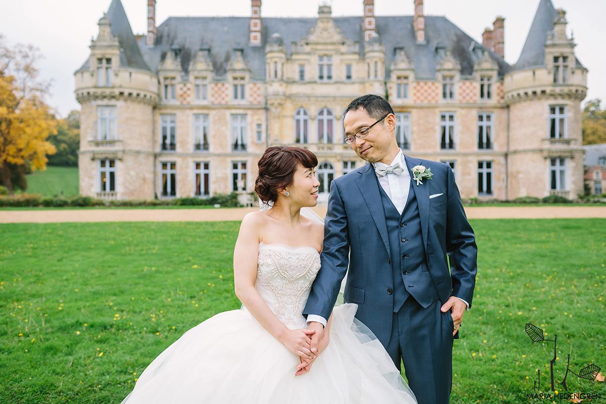 Chateau d'Esclimont wedding