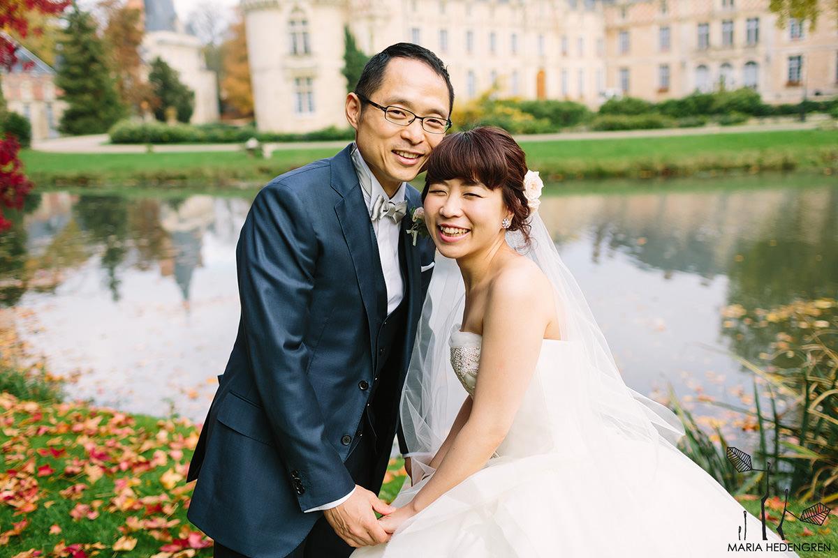 Chateau d'Esclimont wedding