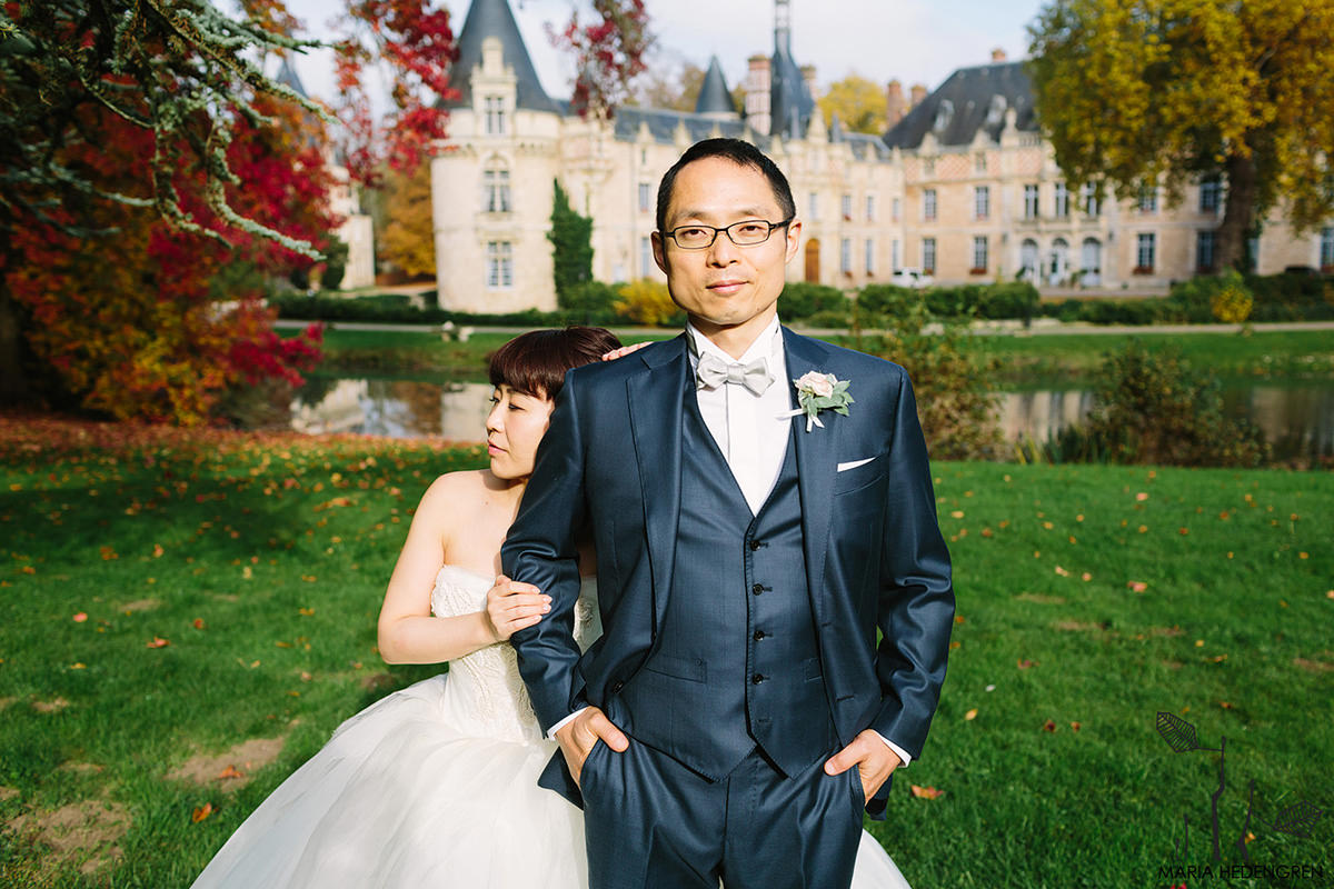 France castle wedding