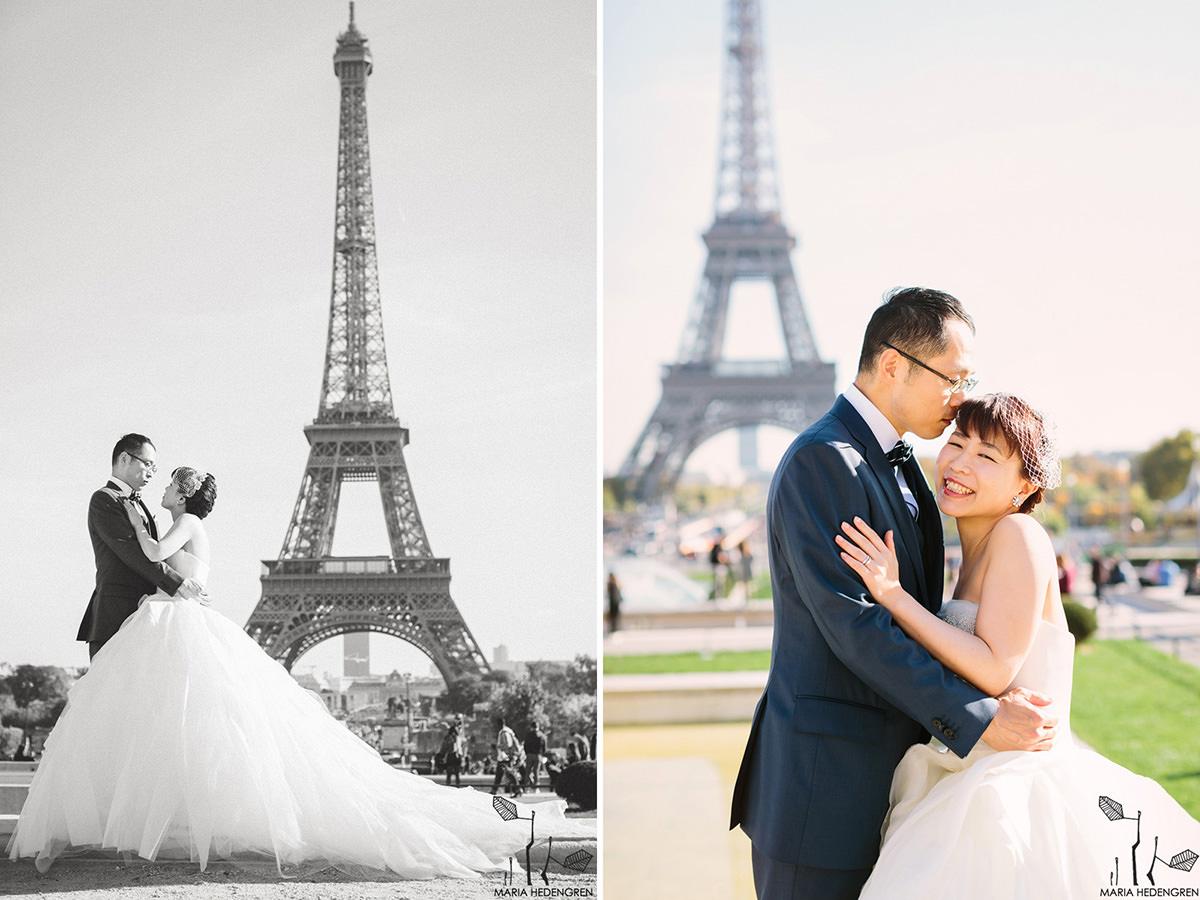 Eiffel Wedding