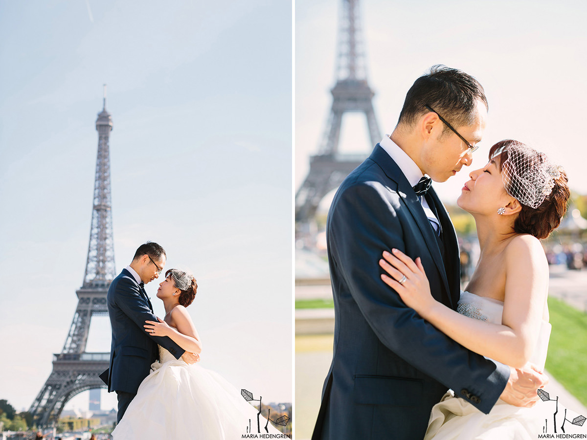 Japanese Wedding in Paris