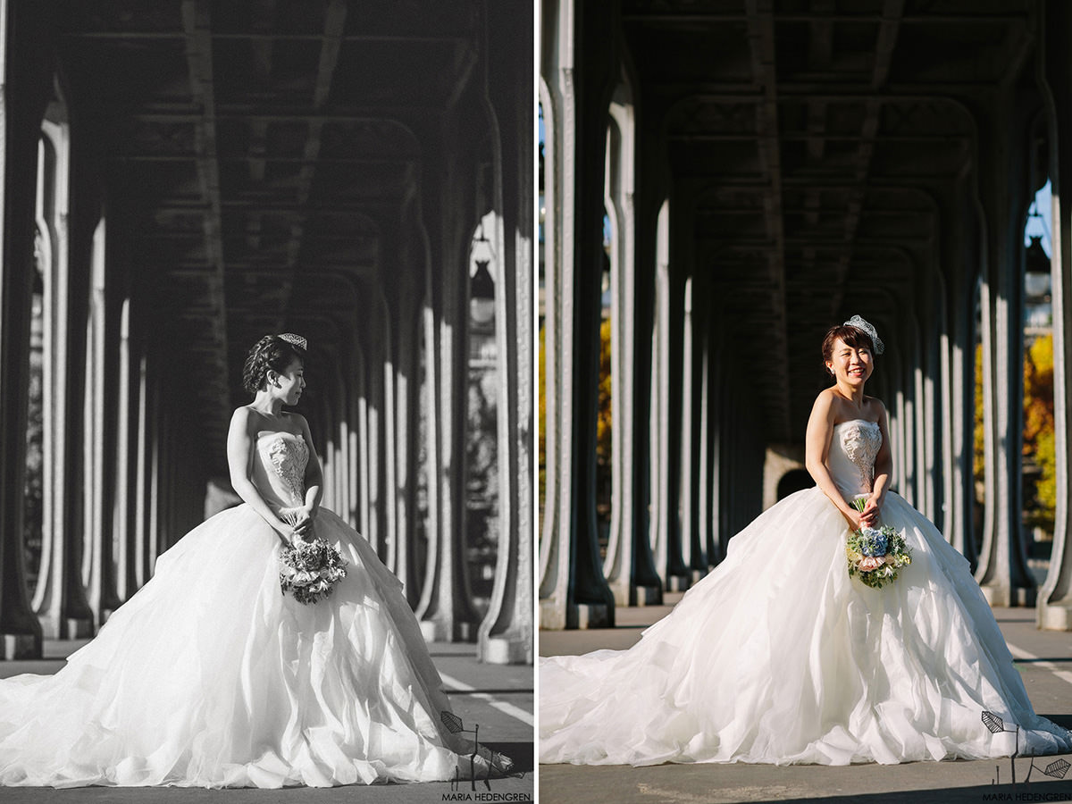 pont de Bir-Hakeim wedding