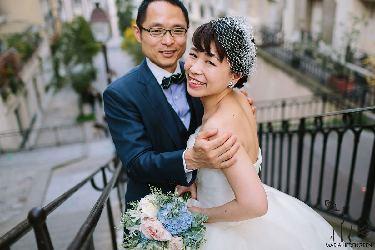 Japanese Wedding in Paris