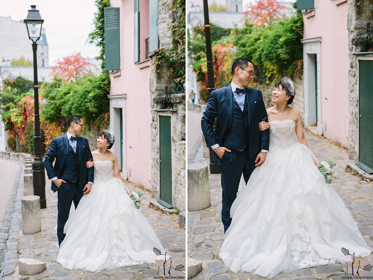 Montmartre wedding