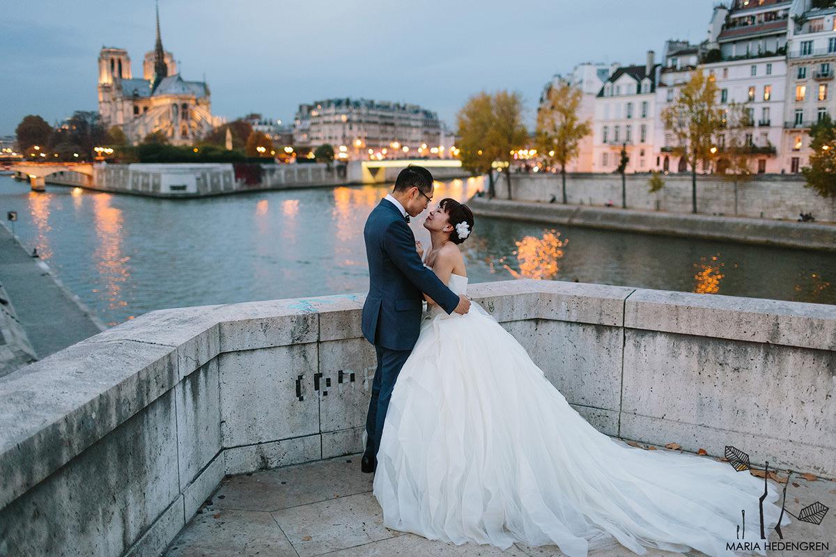 Paris pre wedding session