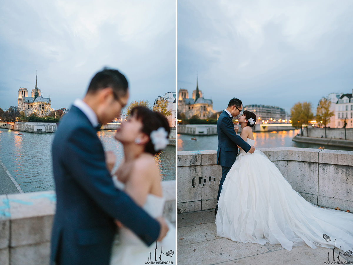 Notre Dame de Paris Wedding