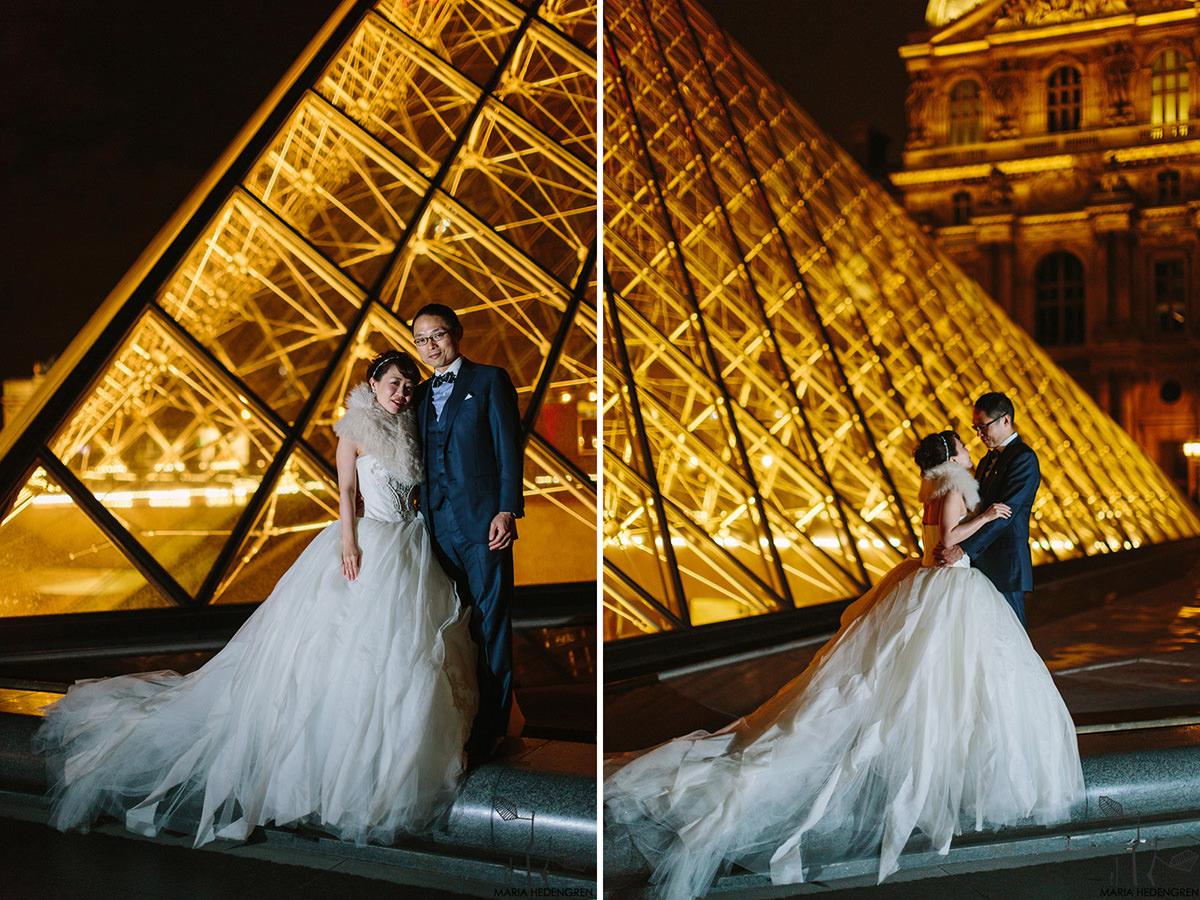 Louvre wedding