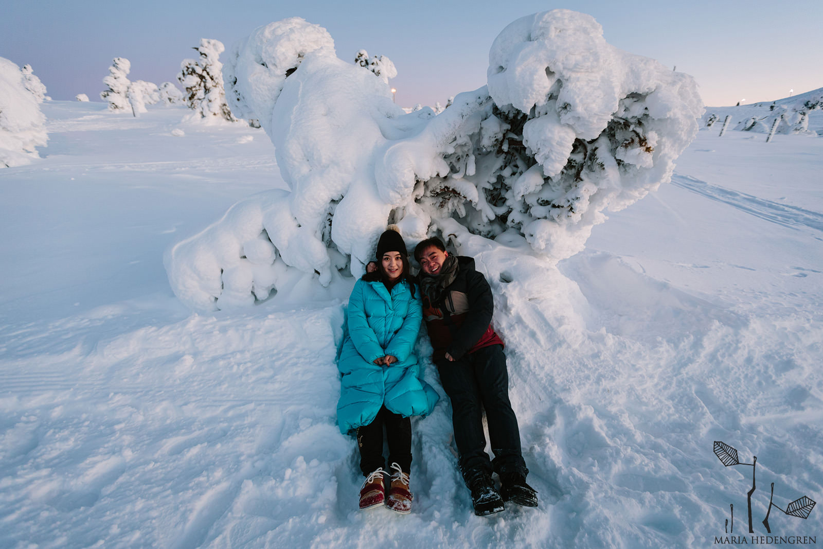 Lapland Honeymoon Photography