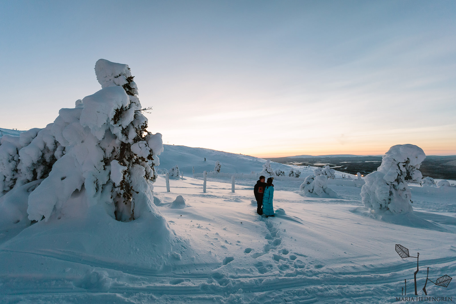 Honeymoon Photography Lapland