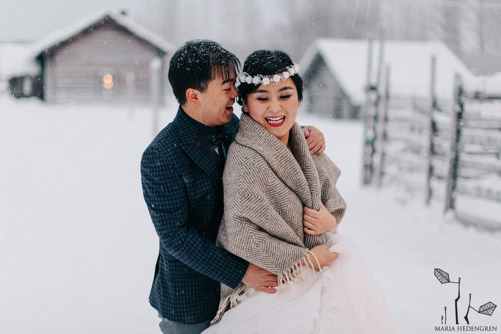 pre-wedding Lapland