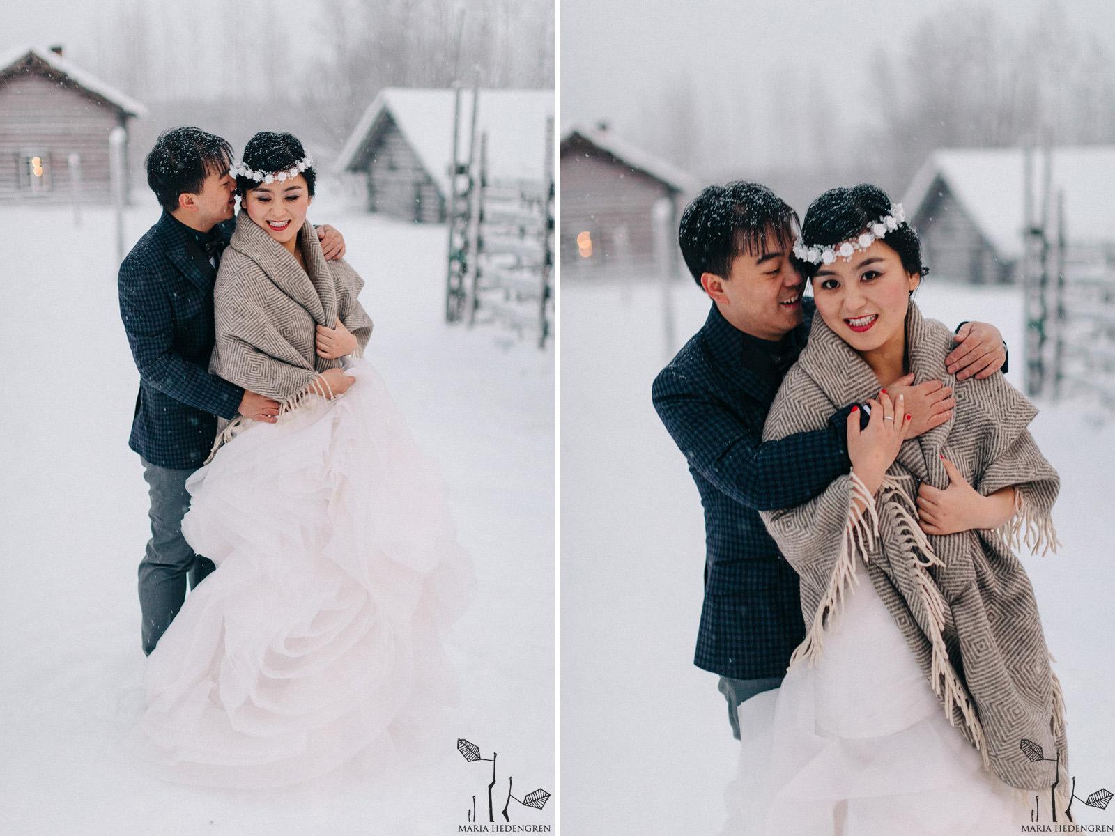 honeymoon Lapland
