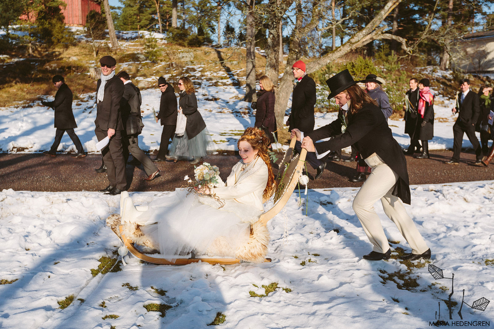 wedding sledge