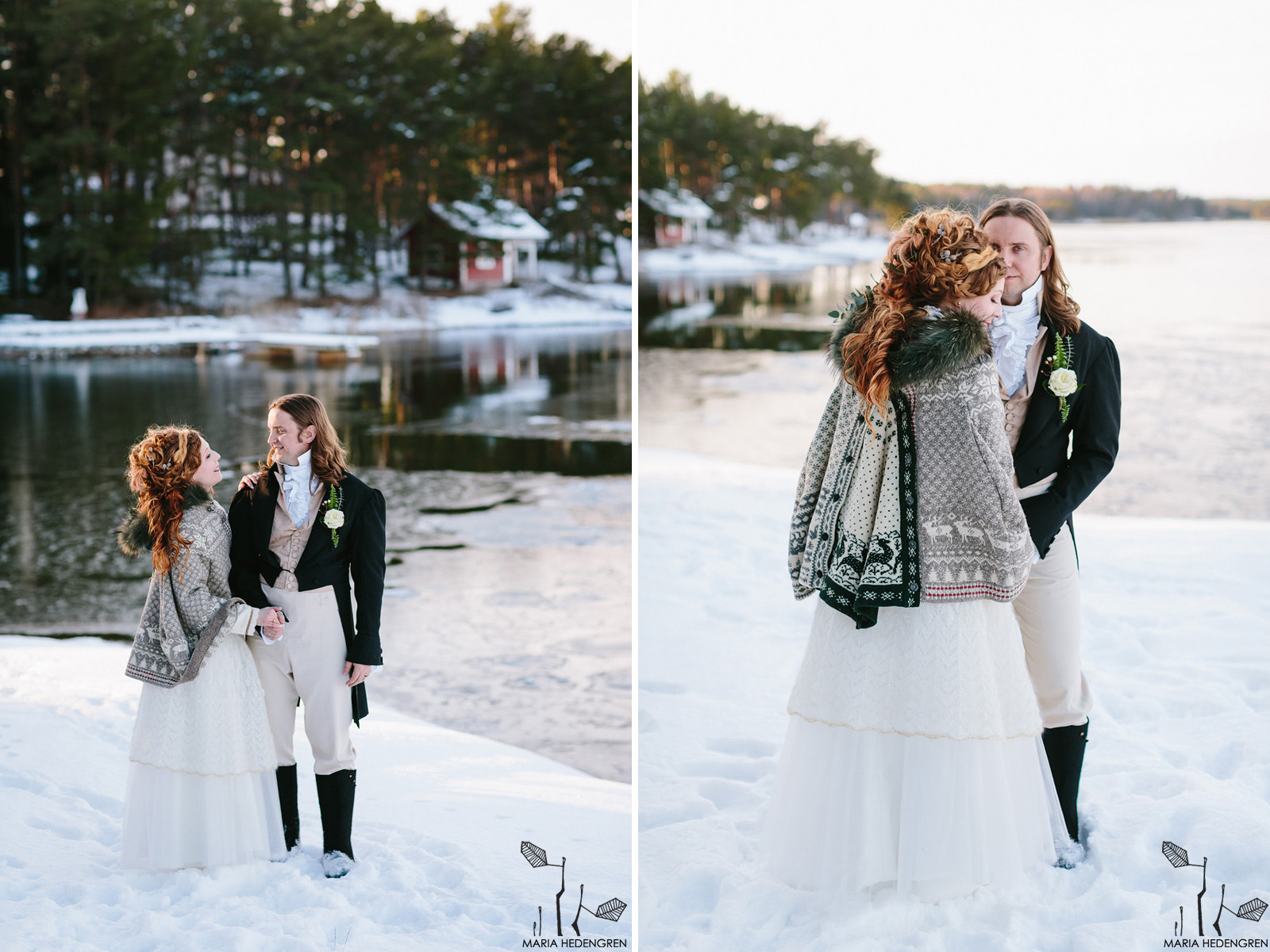 Jane Austen winter wedding