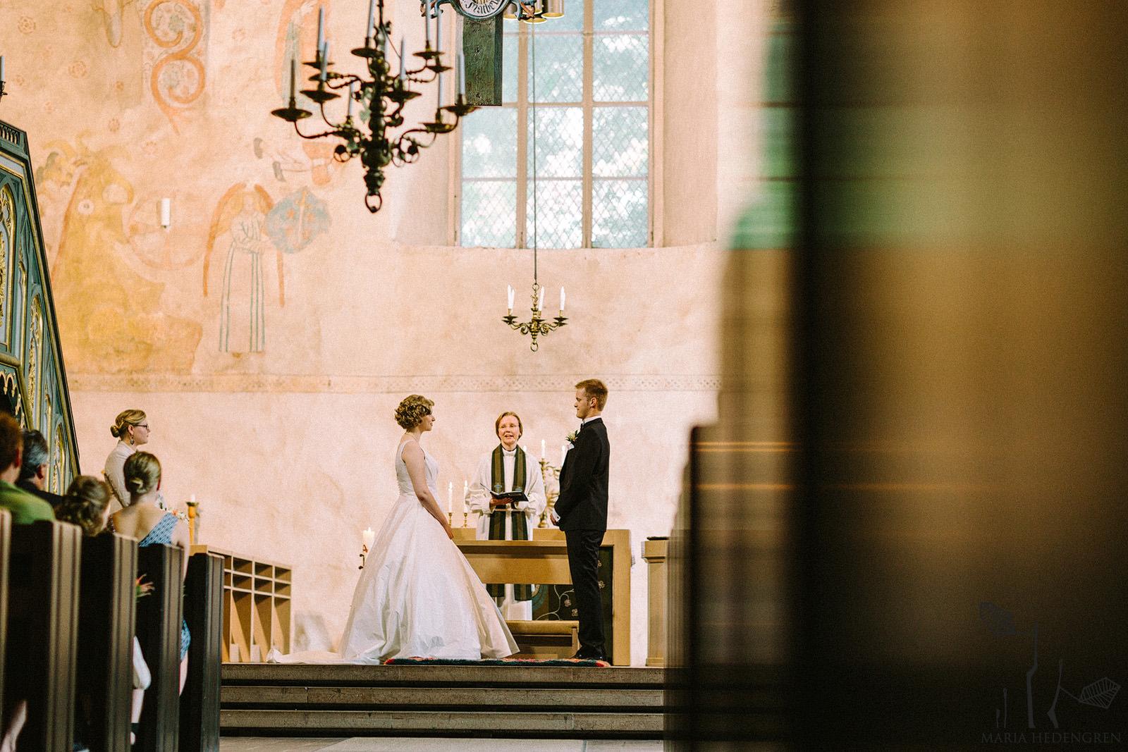 Lohjan Pyhän Laurin kirkko häät