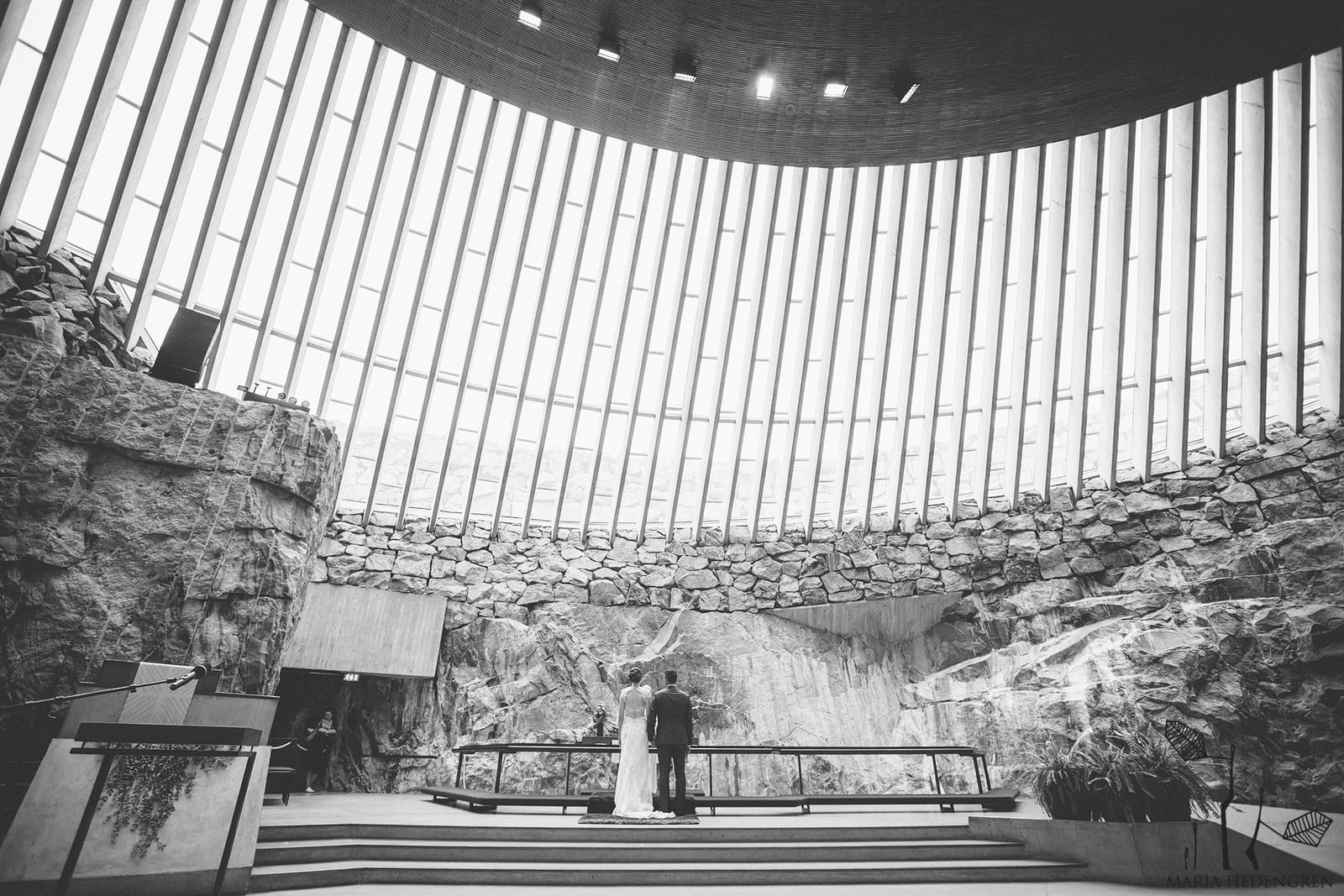 Temppeliaukio Church Wedding