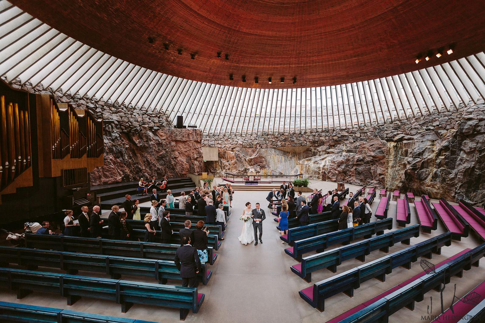 Temppeliaukion Kirkko Häät