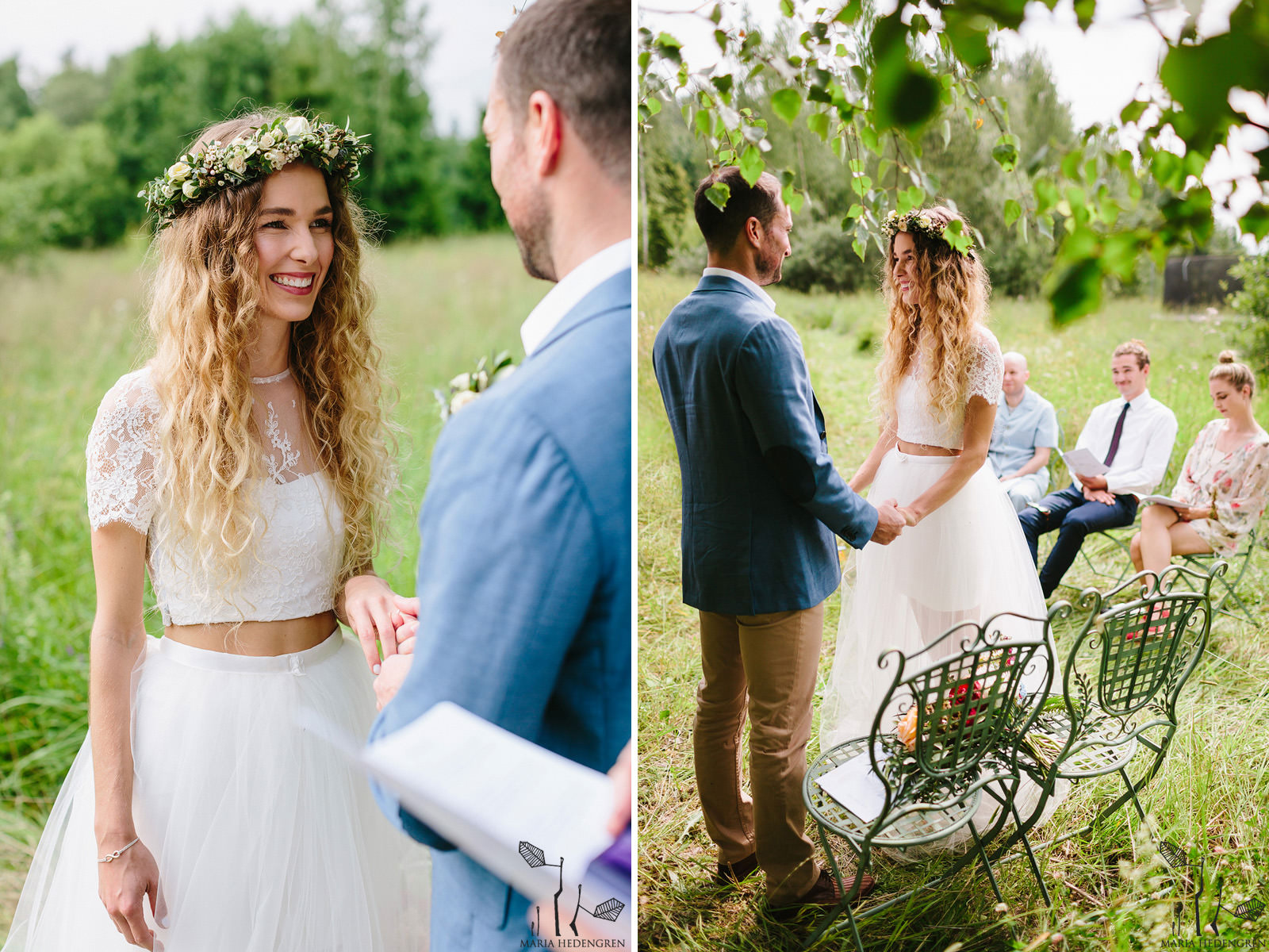 birch tree wedding