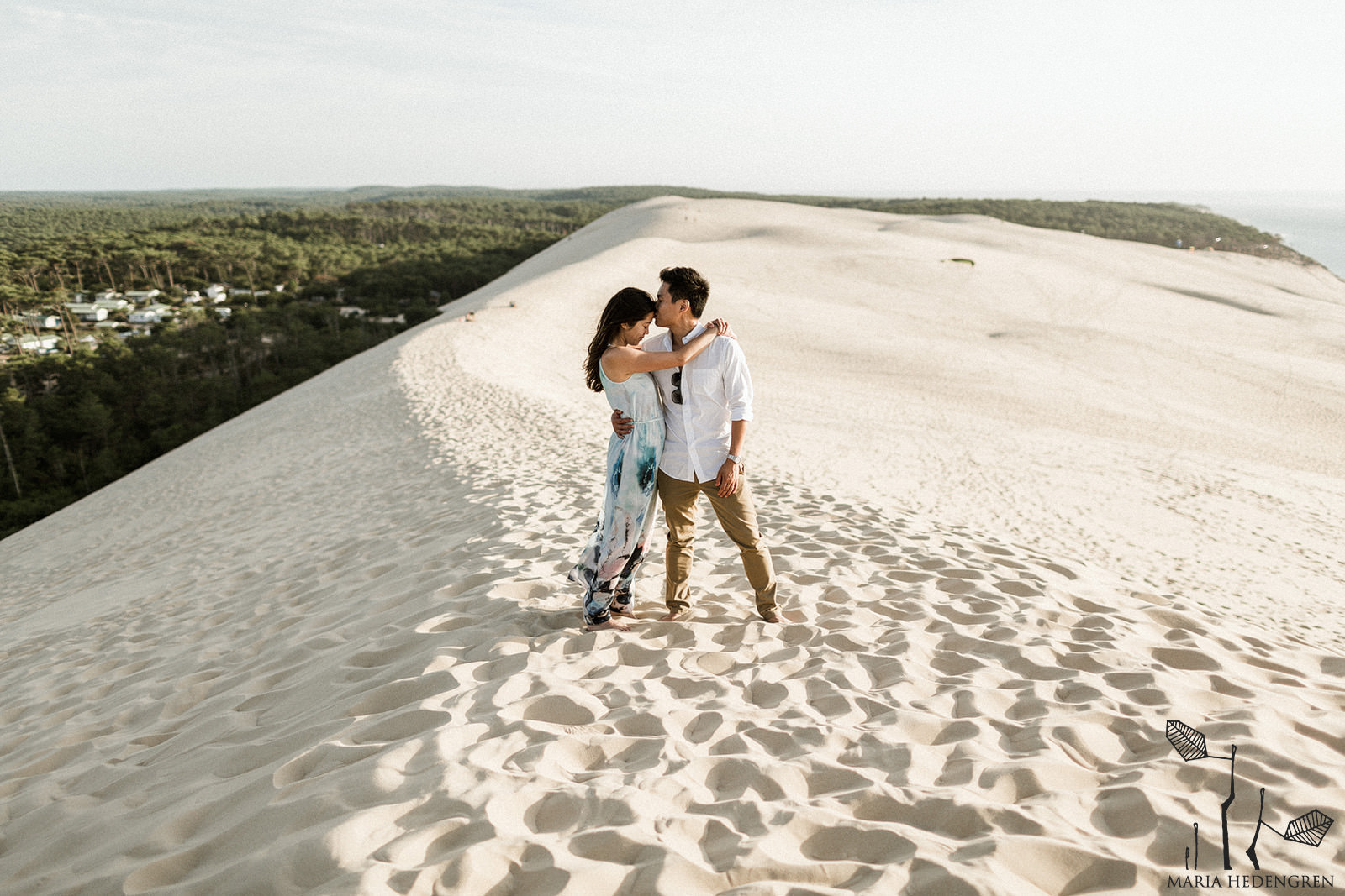 Desert Pre Wedding Session at Dune du Pilat