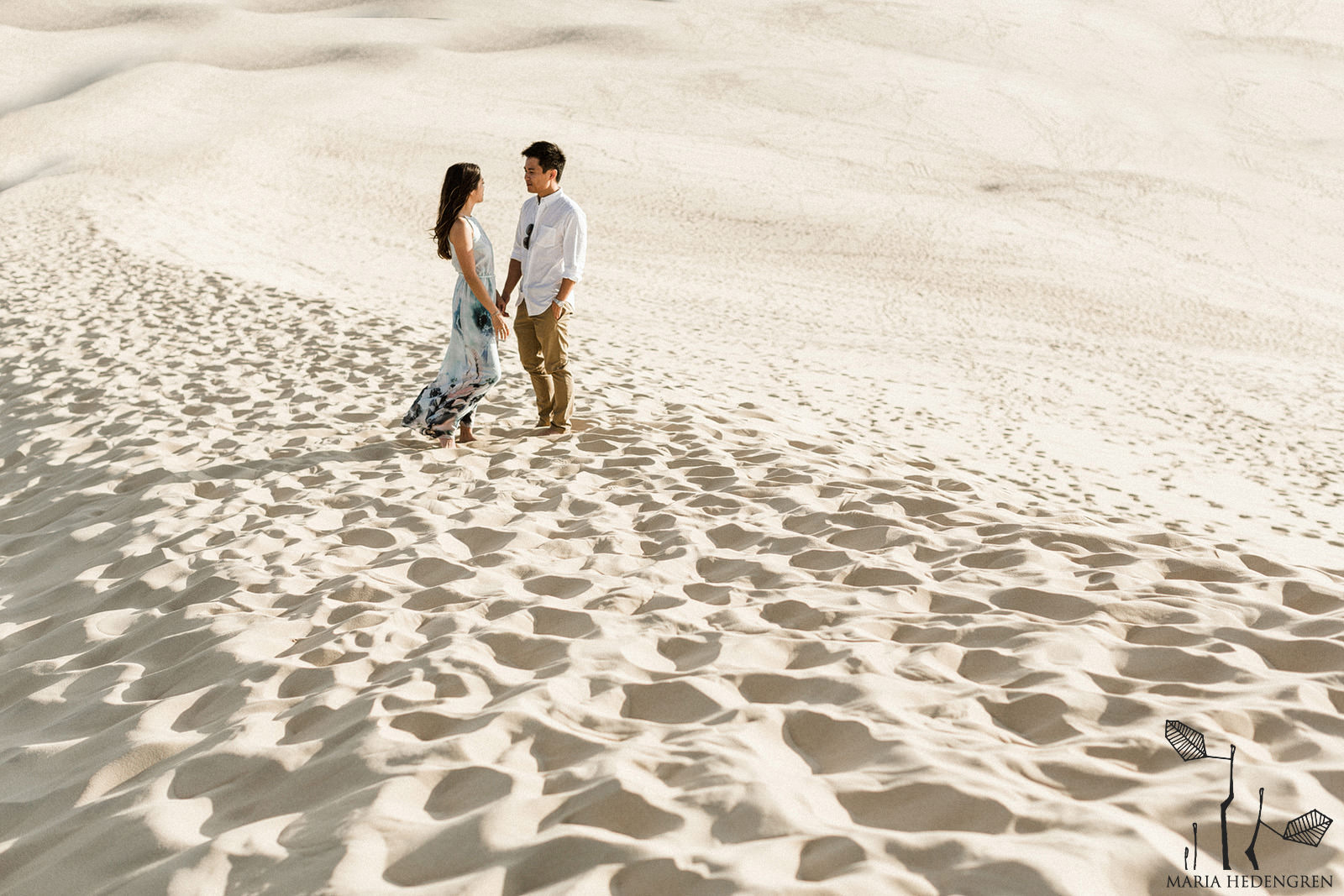 desert dune wedding