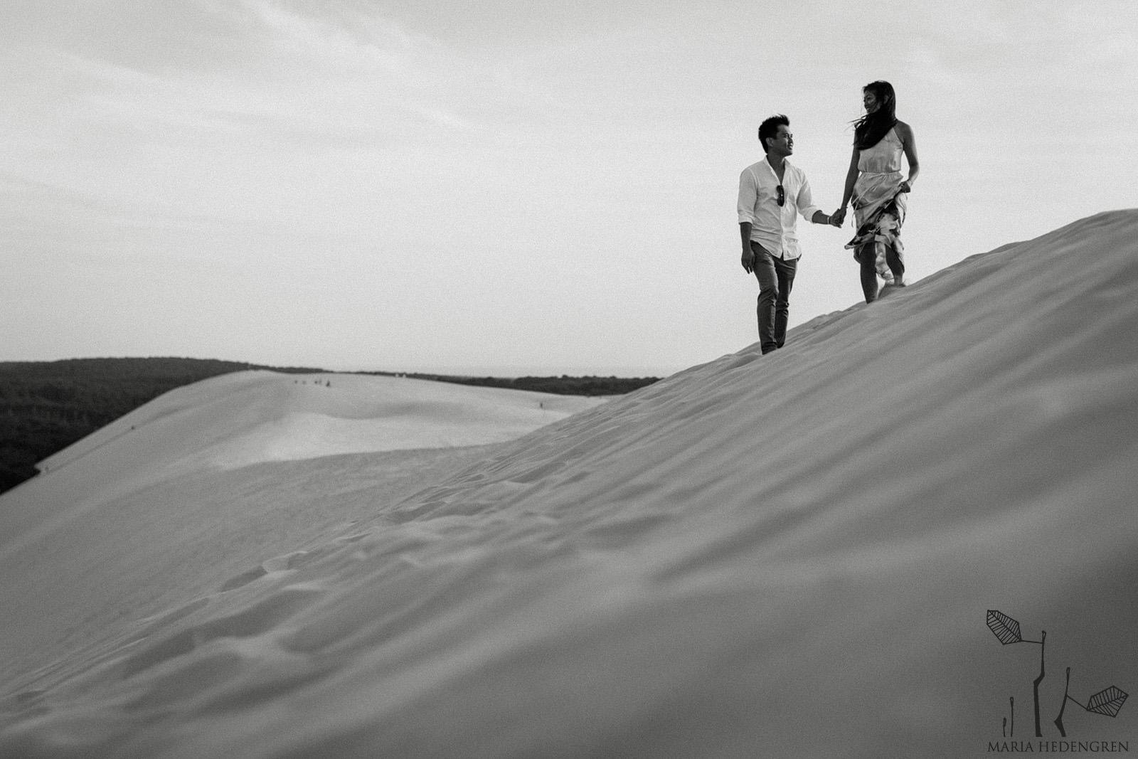 desert dune photoshoot