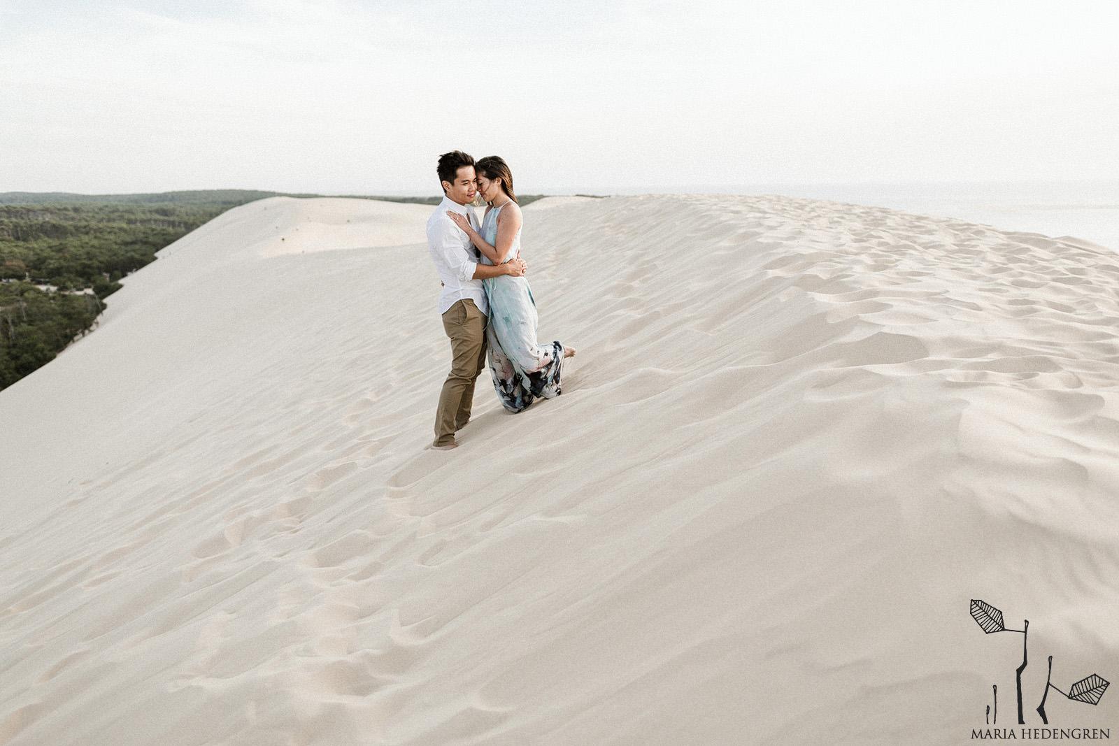 desert dune elopement