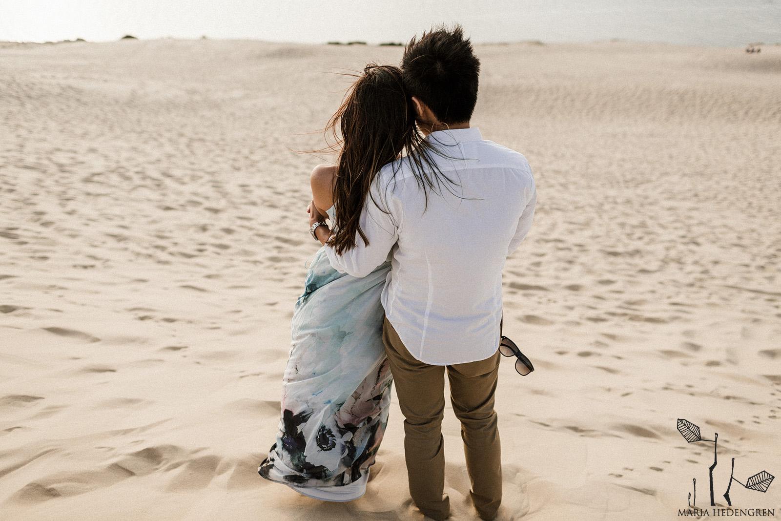 sand dune photoshoot