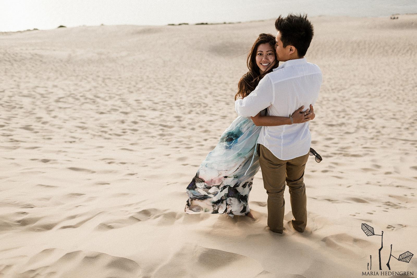 sand dune elopement