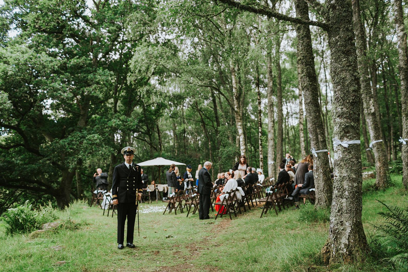 scottish outdoor ceremony