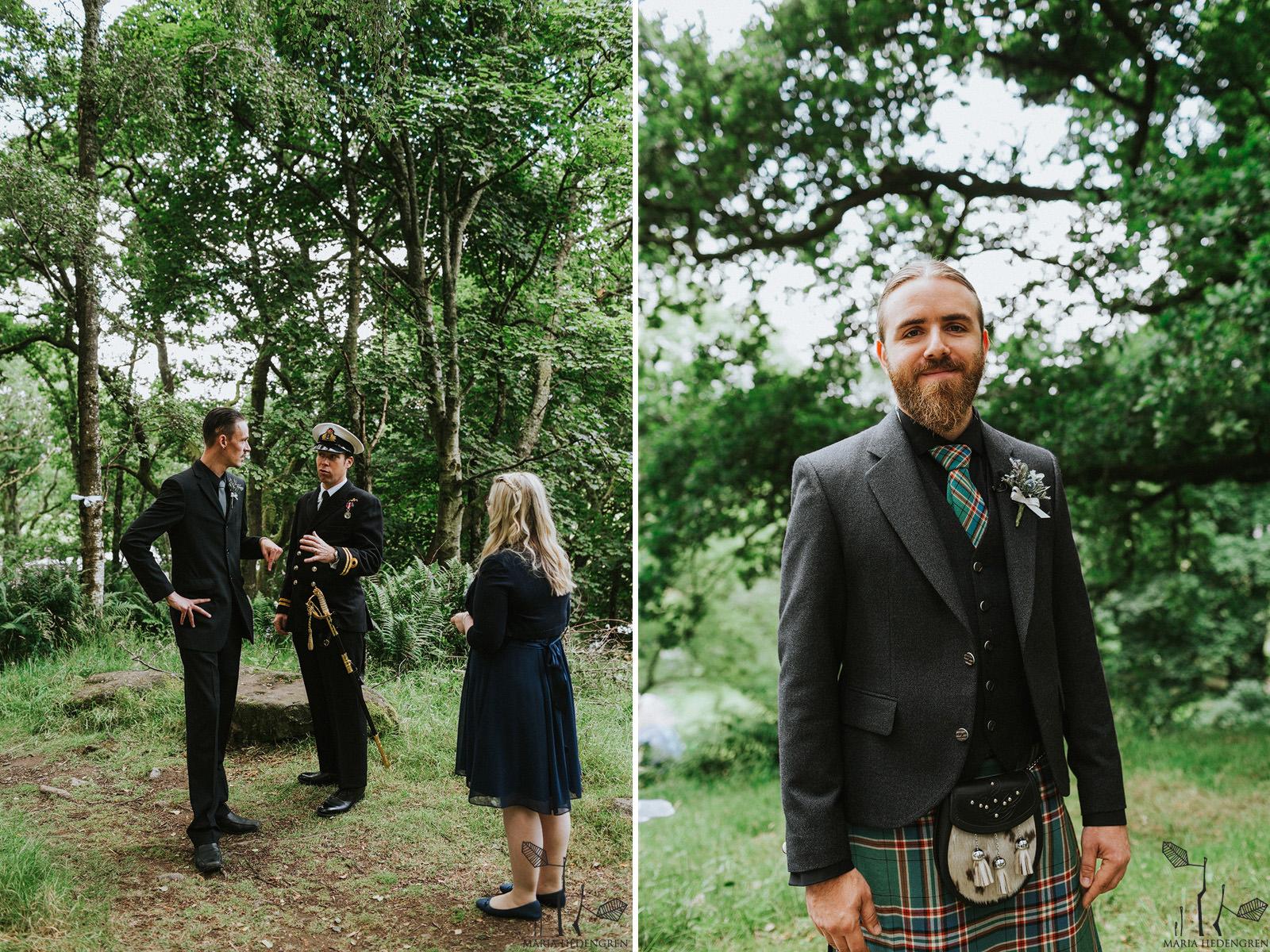 scottish groom attire