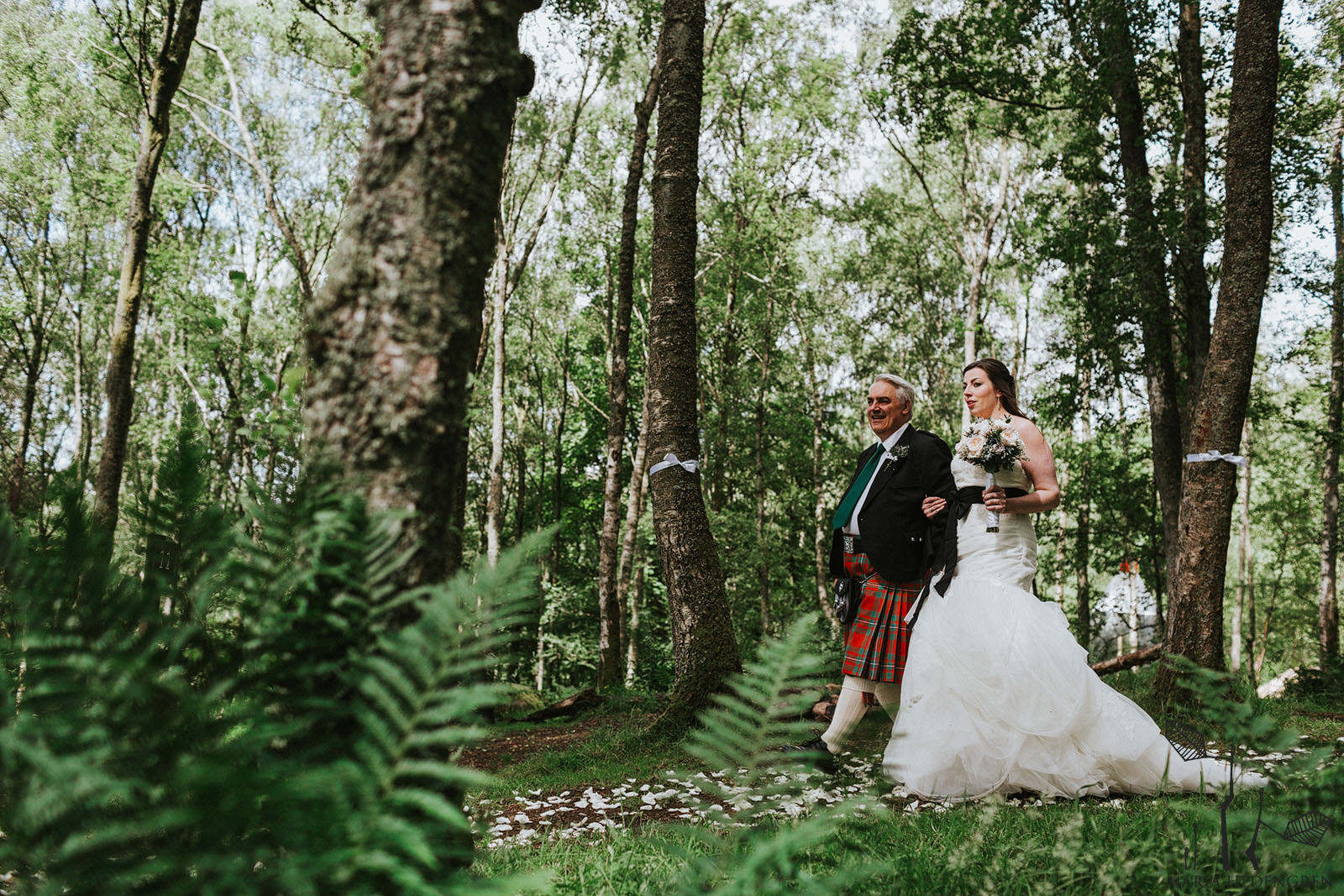 scottish outdoor wedding