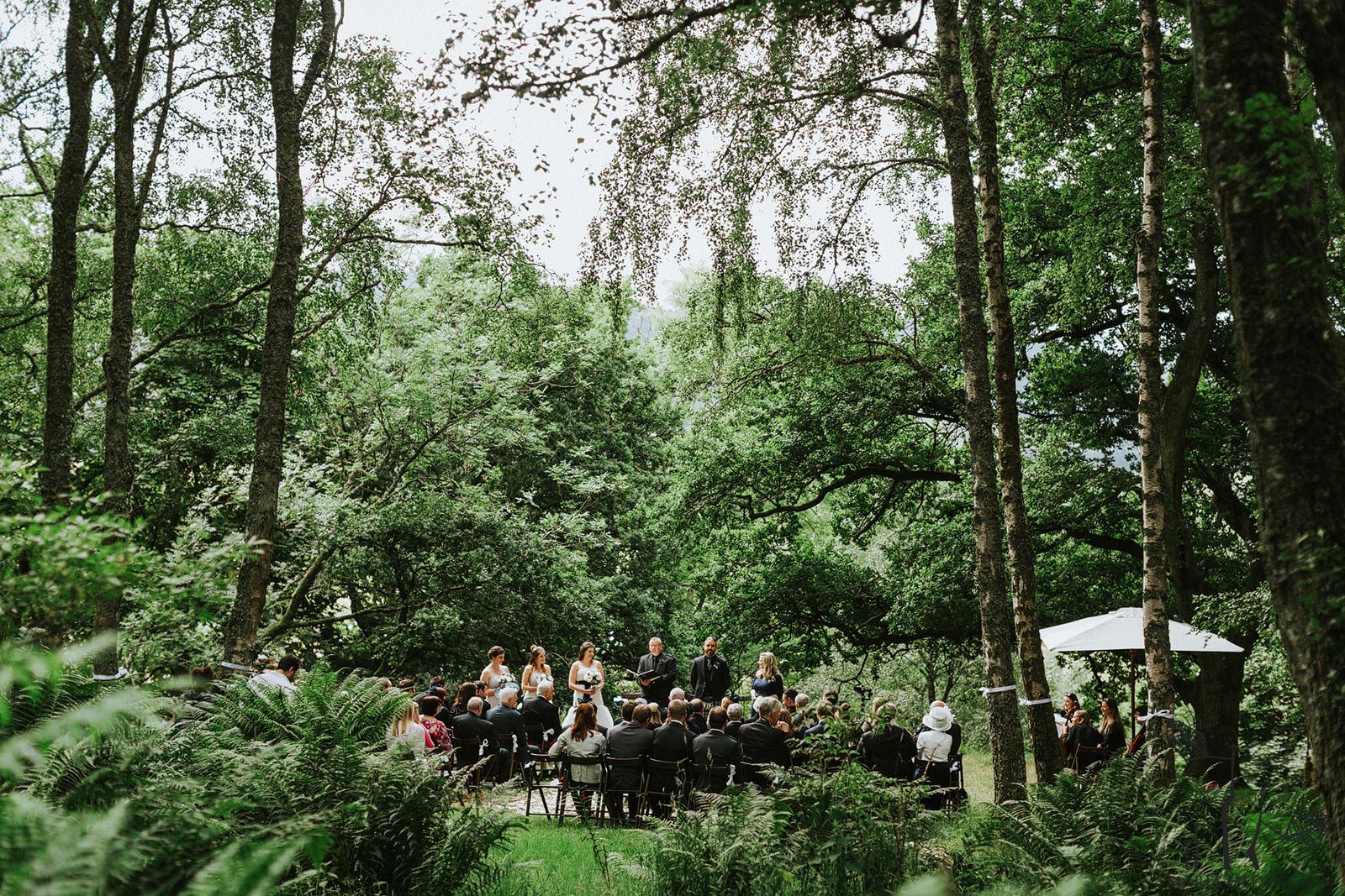 scottish outdoor wedding