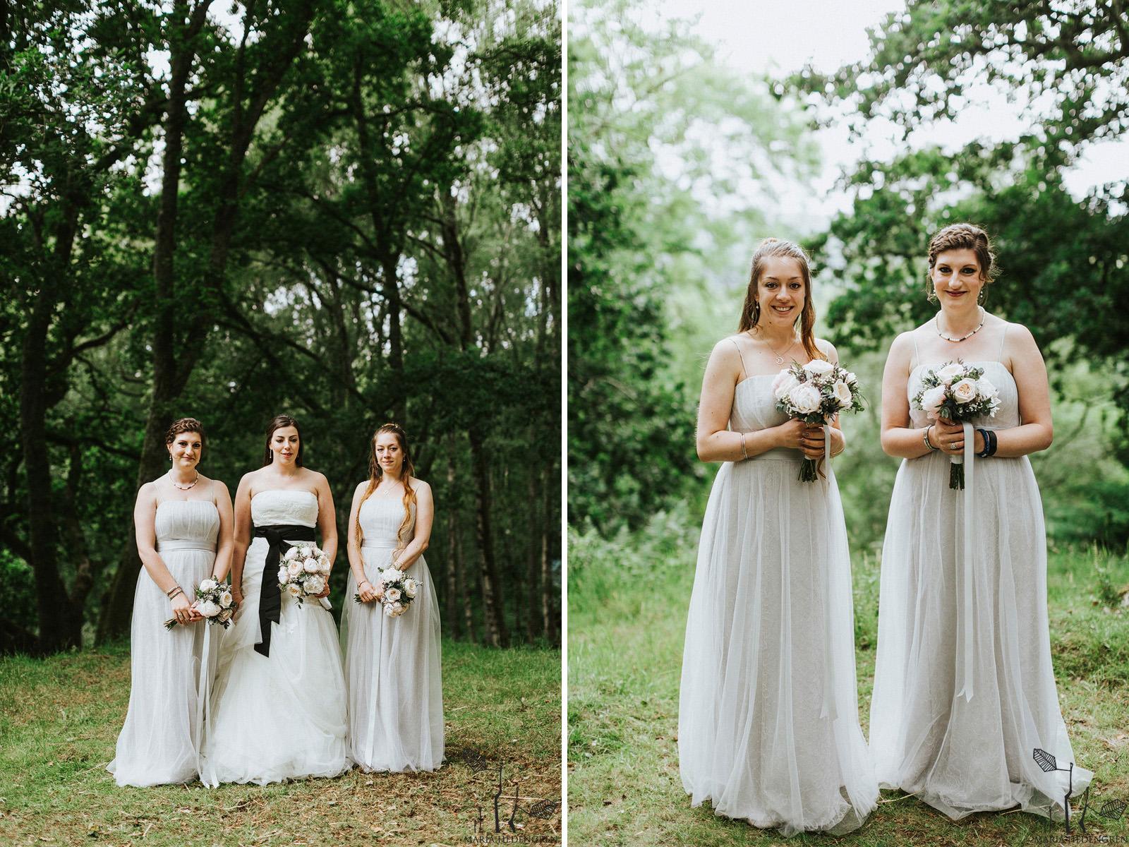 scottish bridesmaids
